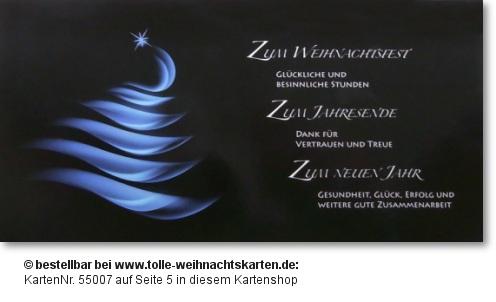 Zusammenarbeit Weihnachtskarten