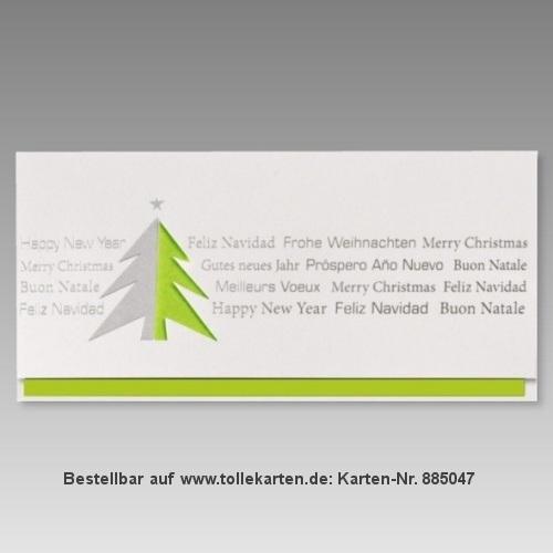 Moderne Weihnachtskarten.Moderne Weihnachtskarte Schlicht Weihnachtskarten