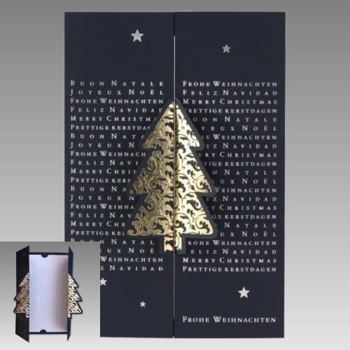 weihnachtskarte edel weihnachtskarten. Black Bedroom Furniture Sets. Home Design Ideas